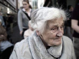 Betroffene Frau - Alzheimer