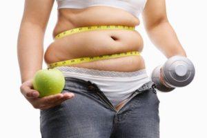 Gesunde Ernährung und Sport zur Bekämpfung von Fettleibigkeit